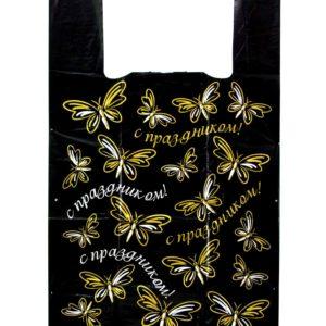 Бабочки черный ПВД